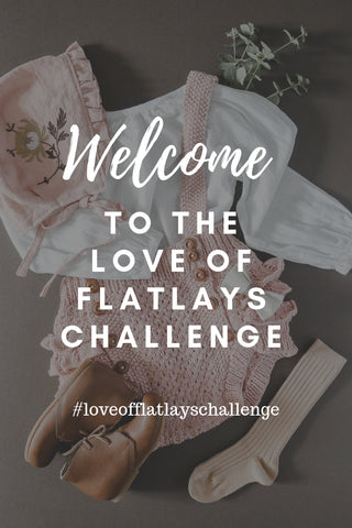 Want better flatlay photos? Join our FREE 8 week flatlay challenge with weekly tips and tricks to and become a flatly ninja! #loveofflatlayschallenge