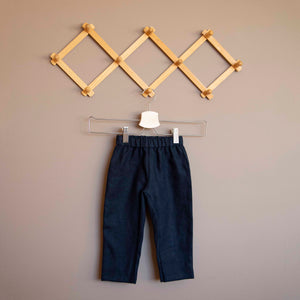 Linen Trousers - Blue