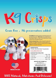 K9Crisps are all natural! Do you have a  fussy dogs? K9Crisps.com