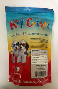 K9Crisps Chicken Chips for your fussy dogs