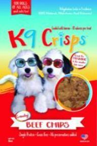 K9CRISPS NEW DEHYDRATED BEEF CHIPS FOR DOGS