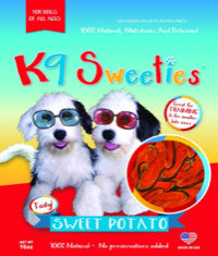 K9 Sweeties 100% All NATURAL SWEET POTATOES 16 OZ