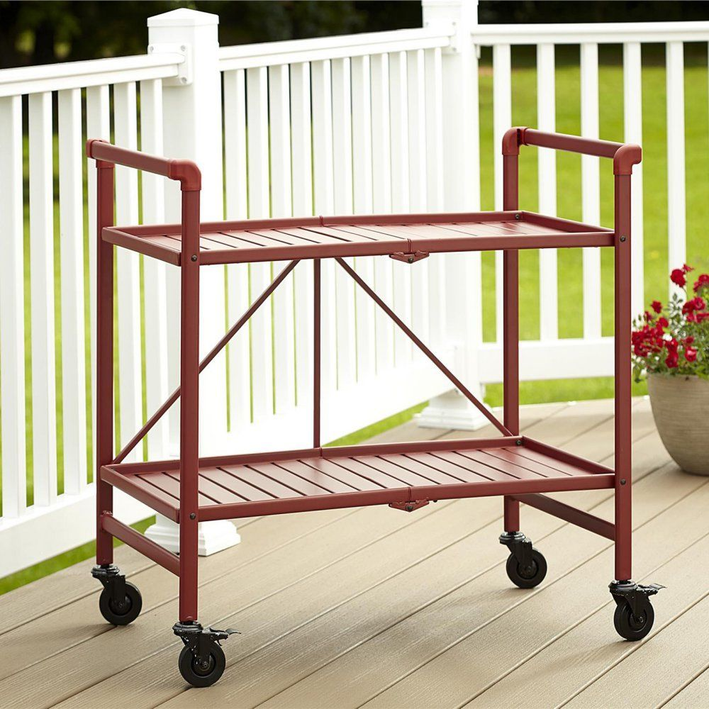 http://www.ebay.com/i/Cosco-Indoor-Outdoor-Slatted-Folding-Serving-Cart-Ruby-Red-/263256878796