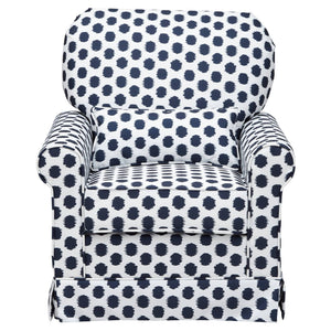 http://www.ebay.com/i/Storkcraft-Polka-Dot-Upholstered-Swivel-Glider-White-Navy-/282746066061