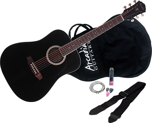 http://www.ebay.com/i/Arcadia-DL-Series-Full-Size-Dreadnought-Acoustic-Guitar-Black-/322948024220
