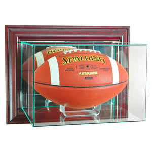 http://www.ebay.com/i/Perfect-Cases-Wall-Mounted-Football-Display-Case-Cherry-Finish-/282496026194