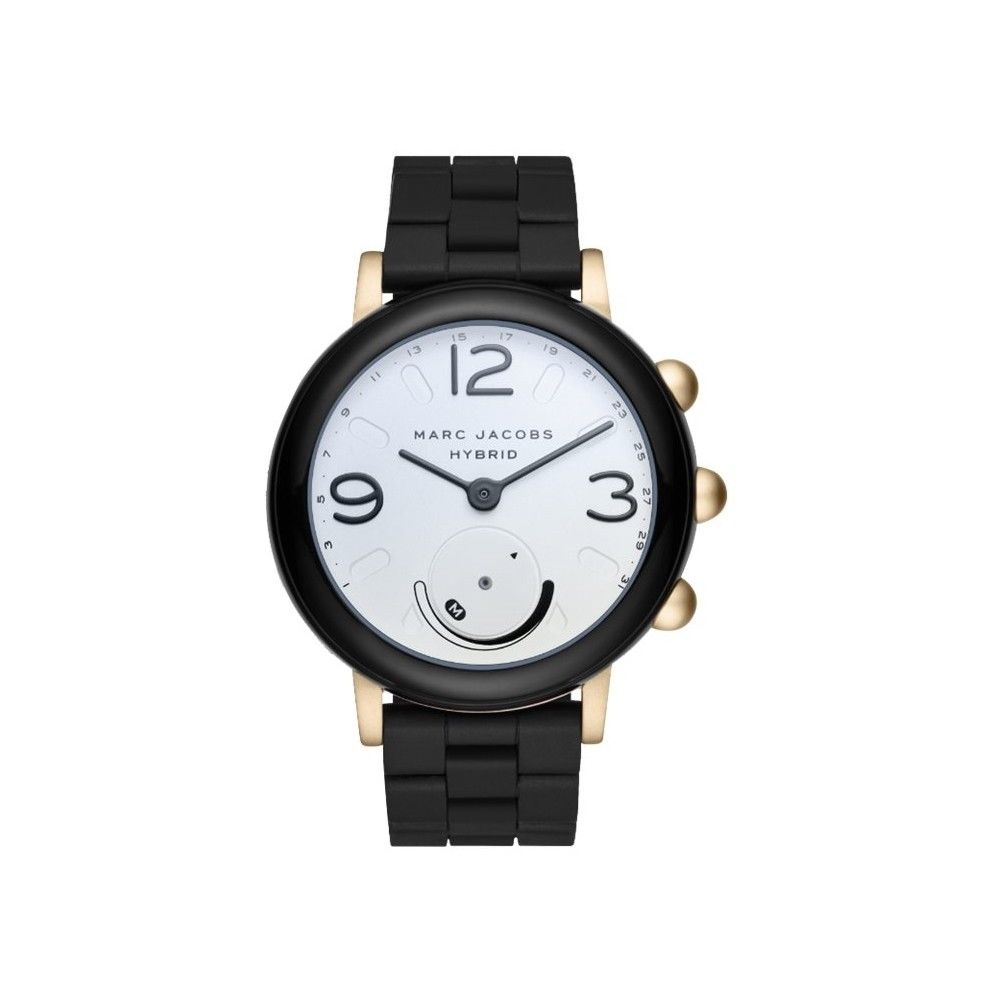 http://www.ebay.com/i/Marc-Jacobs-Riley-Hybrid-Smartwatch-44mm-Aluminum-Gold-tone-and-black-/202083293670