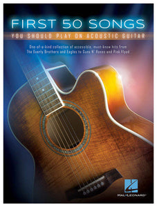 http://www.ebay.com/i/Hal-Leonard-First-50-Songs-You-Should-Play-Acoustic-Guitar-Songbook-Multi-/322894567534