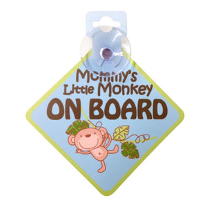 http://www.ebay.com/itm/Zobo-Board-Sign-Mommys-Little-Monkey-/172970765742