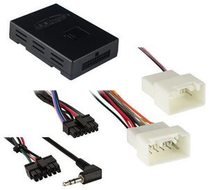 http://www.ebay.com/i/AXXESS-Amplifier-Interface-2014-and-Later-Mitsubishi-Vehicles-Multi-/192342530630