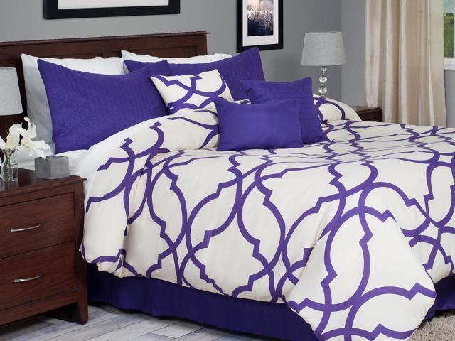 http://www.ebay.com/i/7-Piece-Oversized-Trellis-Comforter-Set-King-Purple-/381451962948