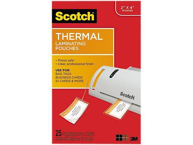 http://www.ebay.com/i/Scotch-Thermal-Laminating-Pouches-Bag-Tags-Loops-/302338779329