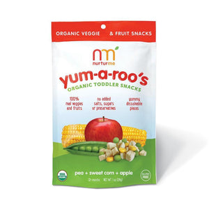 http://www.ebay.com/itm/Yum-a-Roos-Organic-Toddler-Snack-Pea-Sweet-Corn-Apple-1-Ounce-Pack-/172972467032