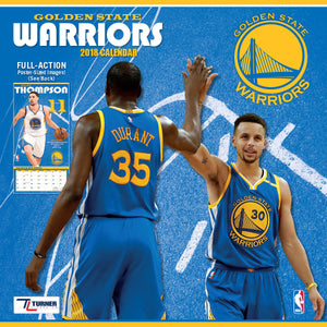 http://www.ebay.com/i/Turner-2018-NBA-Golden-State-Warriors-Wall-Calendar-/362125788841