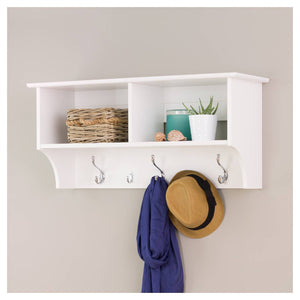 http://www.ebay.com/i/Wide-Hanging-Entryway-Shelf-White-36-Prepac-/301958047381