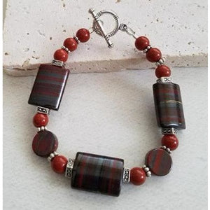 Blood Agate Bracelet