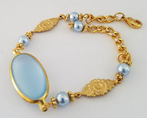 Light Blue Vintage Bracelet