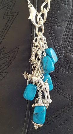 Western Boot Charm