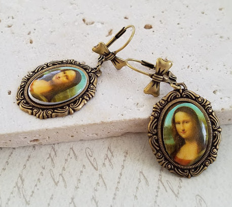Mona Lisa Earrings
