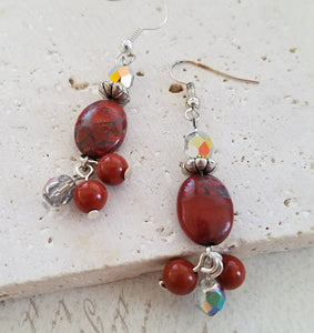 Poppy Jasper Earrings