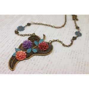 Fall Blossoms Necklace