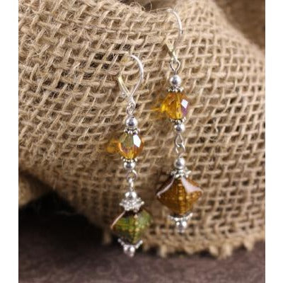 Aurora Mirage Bead Earring