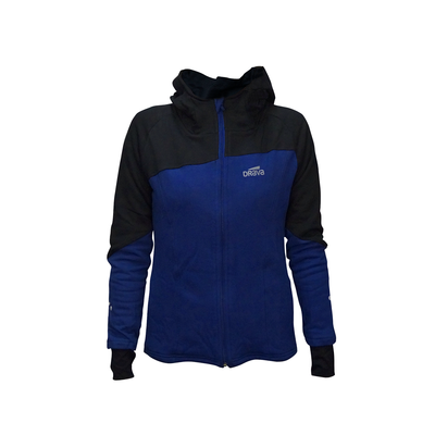 Poleron Cover Hood Azul Woman