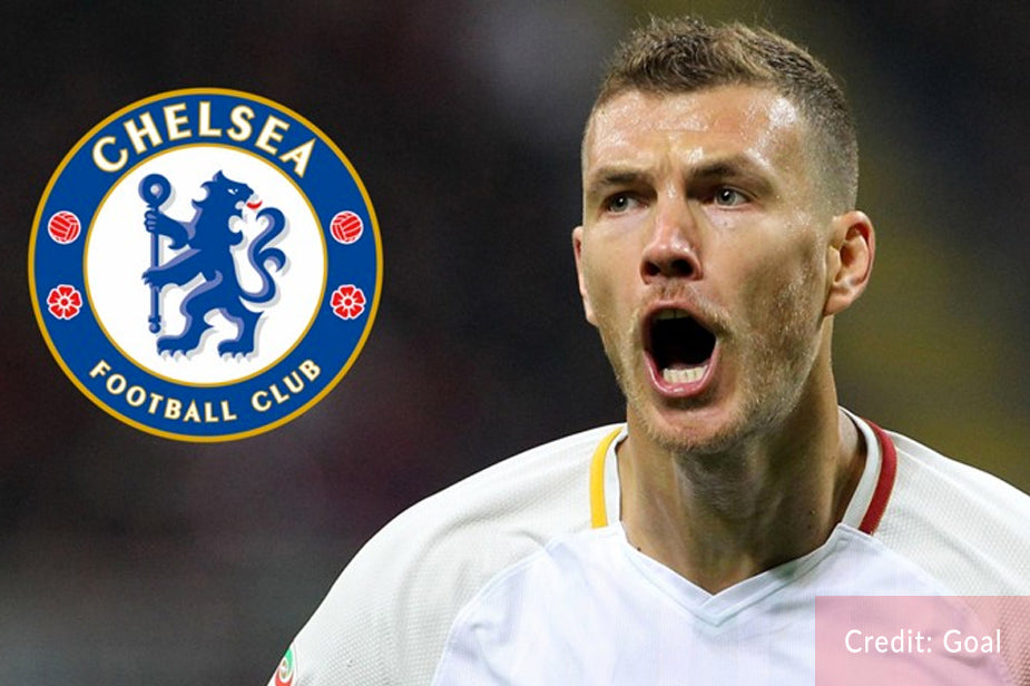 How Chelsea could line up with Dzeko