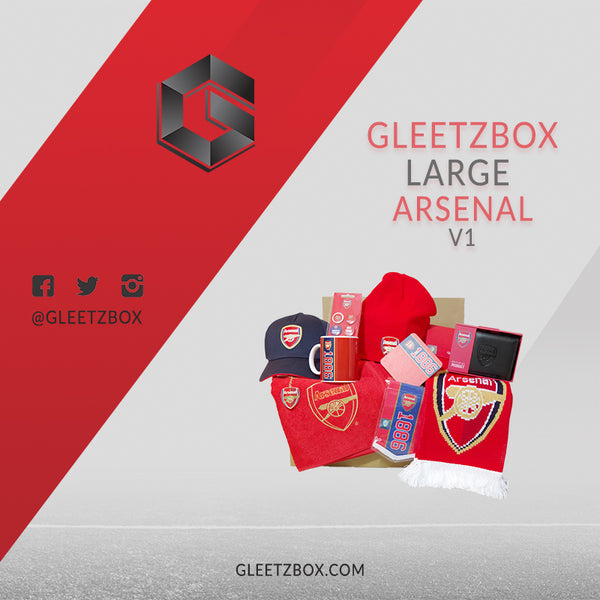 Arsenal gleetzbox Large - V1 - Gift box Arsenal - Fan box Arsenal 3