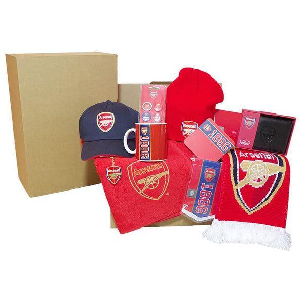 Arsenal gleetzbox Large - V1 - Gift box Arsenal - Fan box Arsenal 2