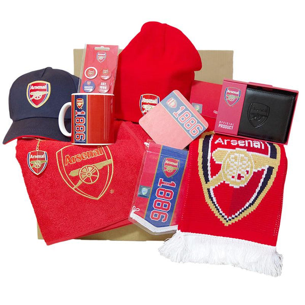 Arsenal gleetzbox Large - V1 - Gift box Arsenal - Fan box Arsenal