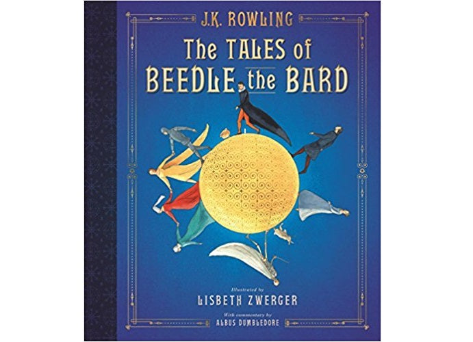 The Tales of Beedle The Bard Illustrated Book