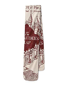 Lightweight Scarf - Marauders Map