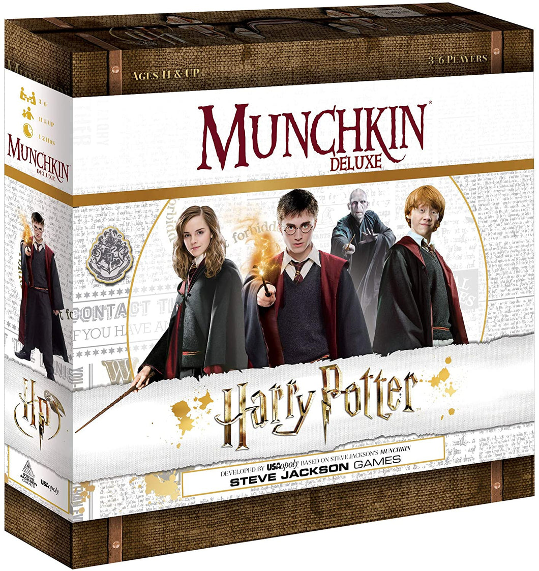 Munchkin Deluxe Harry Potter Game