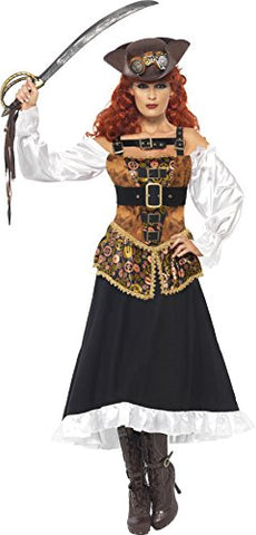 Steampunk Pirate Wench Costume