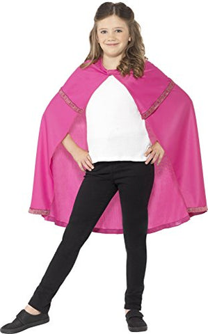 Girls Pink Cape
