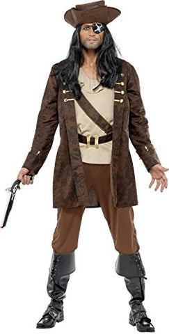 Gents Buccaneer Pirate Costume