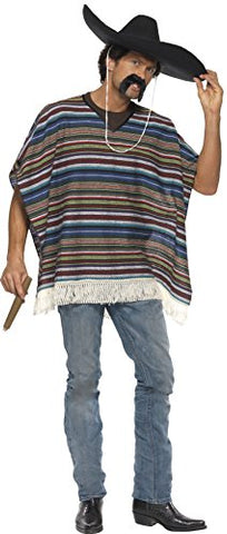 Mexican Authentic Poncho Costume