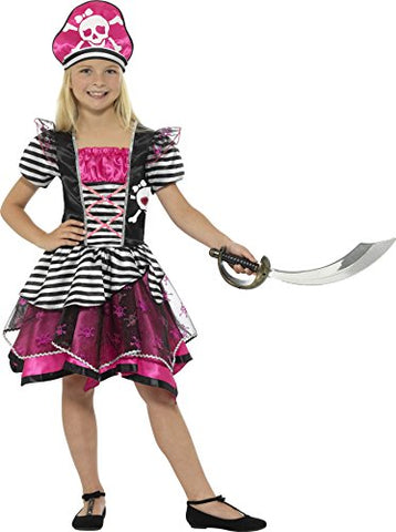 Childs Perfect Pirate Girl Costume