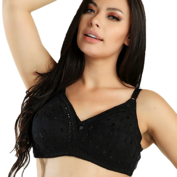 MAGIC CURVES EVERYDAY CLASSIC FULLER COVERAGE BRA (2903) - BLACK