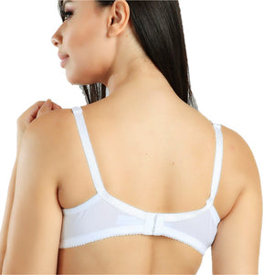 MAGIC CURVES EVERYDAY CLASSIC FULLER COVERAGE BRA (2903) - WHITE