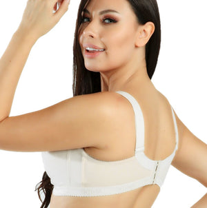 MAGIC CURVES COMFORT FULLER COVERAGE BRA - (2908) NUDE