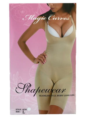 MAGIC CURVES SEAMLESS FULL LONG LEGGED BODYSUIT