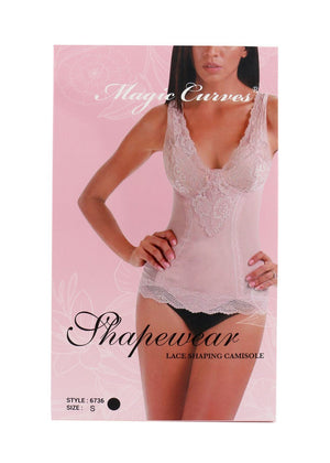 MAGIC CURVES LACE SHAPING CAMISOLE