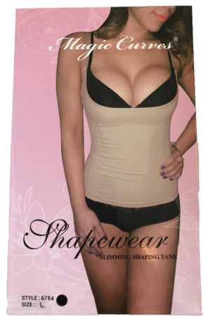MAGIC CURVES SEAMLESS HIGH CONTROL OPEN BUST CAMISOLE
