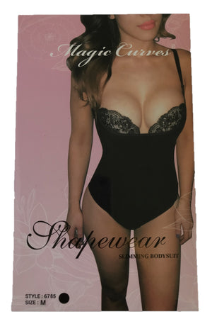 MAGIC CURVES SEAMLESS OPEN BUST FIRM CONTROL SHAPER
