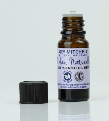 relax pure essential oil blend geo mitchell