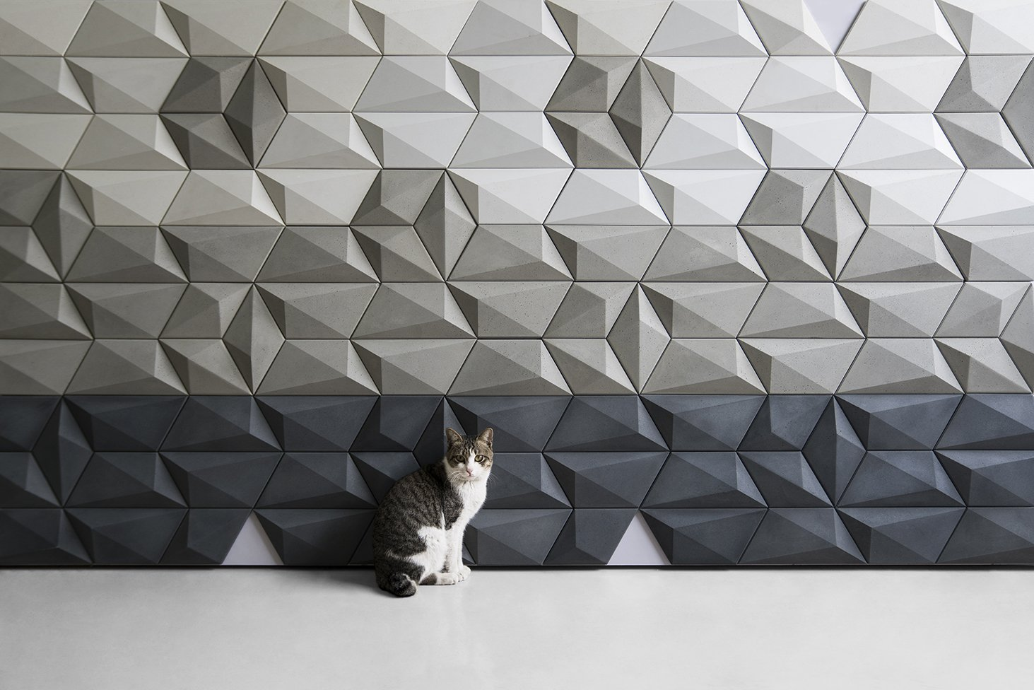 SAN-M Concrete Decorative Wall Tile, Wall Tile - Luvurwall