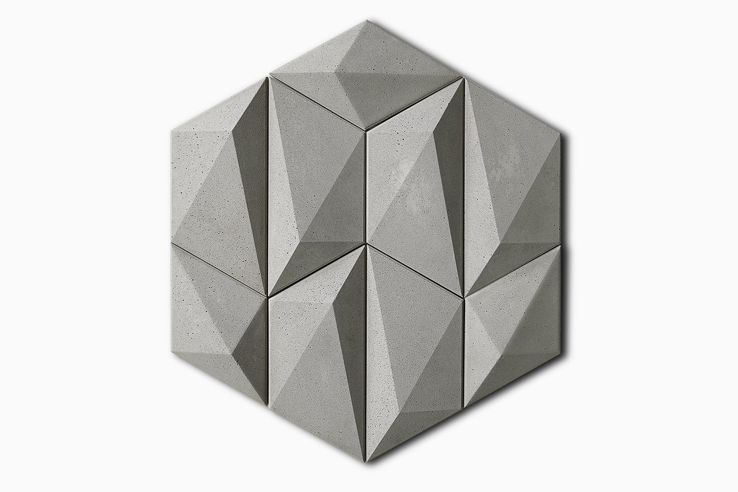 SAN-S Concrete Decorative Wall Tile, Wall Tile - Luvurwall