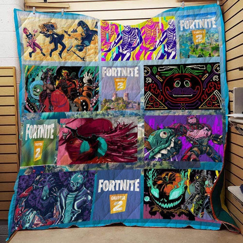 Chapter2_S1 / US Twin Fortnite Custom Quilt Blankets
